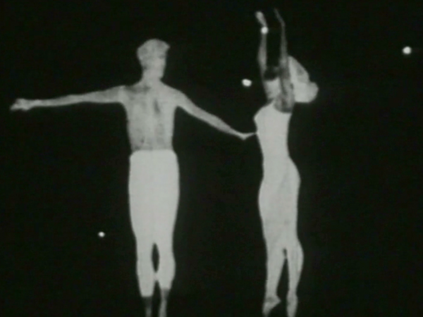 From a  film by Maya Deren, 1958