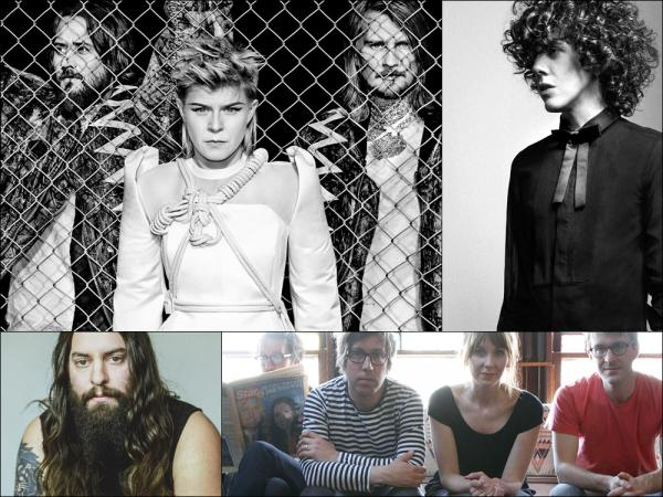 Clockwise from upper left: Röyksopp & Robyn, LP, Bishop Allen, Strand Of Oaks