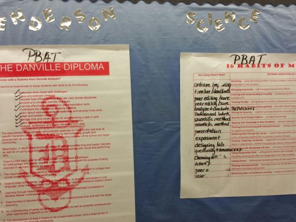 The Danville Diploma is part of a new approach to learning at the school.