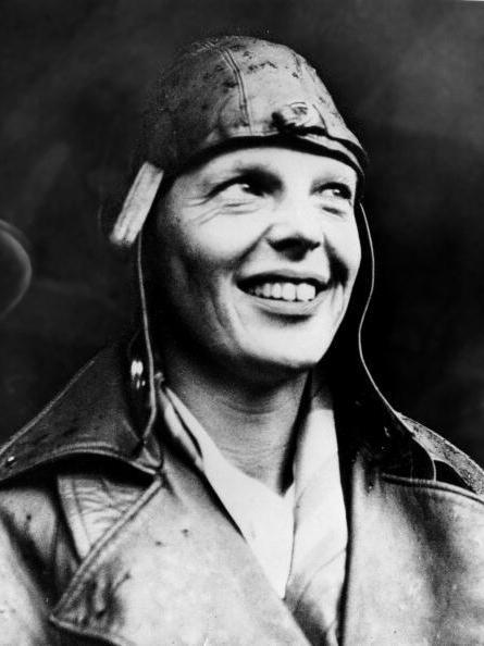 The original Amelia Earhart in 1932.