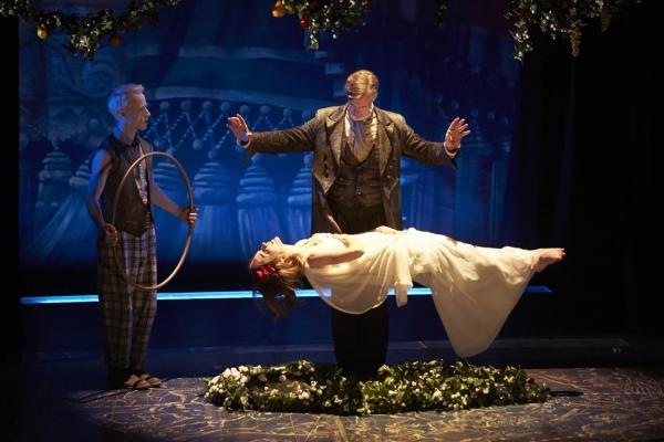 """Teller's production of """"The Tempest"""" incorporates many of his own interests as a magician and illusionist. (Geri Kodey/The Smith Center)"""