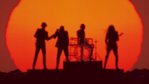 A still from the album trailer for Daft Punk's <em>Random Access Memories</em>.