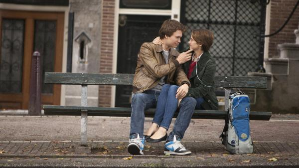 Shailene Woodley and Ansel Elgort play the cancer-stricken lovers in <em>The Fault in Our Stars.</em>