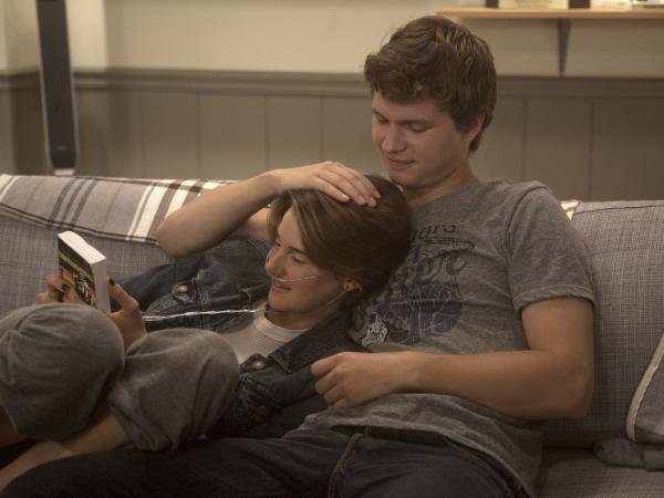 Hazel (Shailene Woodley) and Gus (Ansel Elgort) take on a variety of challenges in <em>The Fault in Our Stars</em>.