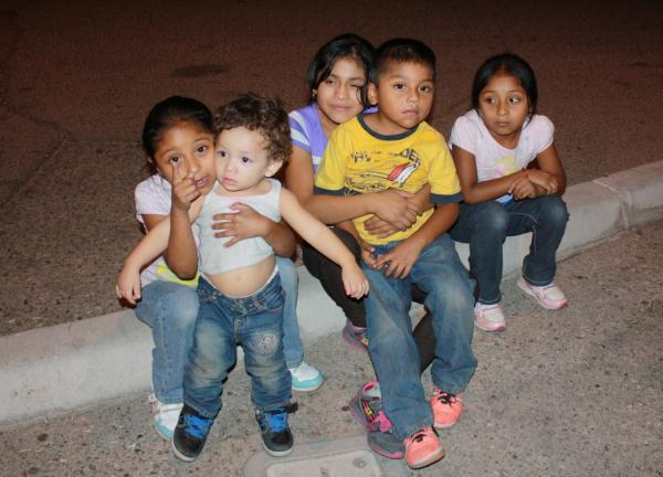 U.S. Border Patrol has apprehended more children crossing the border in the first seven months of this fiscal year than in the entire previous year. (Jude Joffe-Block/Fronteras Desk)