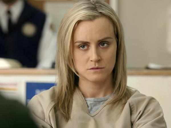 Taylor Schilling's Piper Chapman is among the fascinating characters who continue to push forward in the second season of Netflix's <em>Orange Is The New Black</em>.
