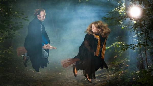 David and Brianna Wurtsmith's Harry Potter-themed wedding is just one among many fantasy-themed weddings these days.