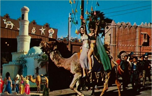 The Festival of Dates Arabian Nights Pageant, circa 1956.