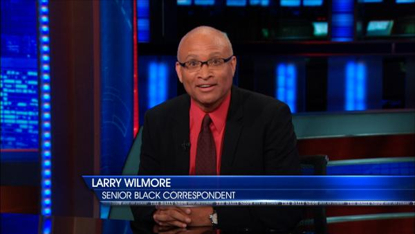 """When I'm working on <em>The Daily Show</em>, I understand that I'm having a dialogue with the audience about something that is pretty charged,"" says Larry Wilmore. ""And I'm always trying to work on: What is this really about?"""