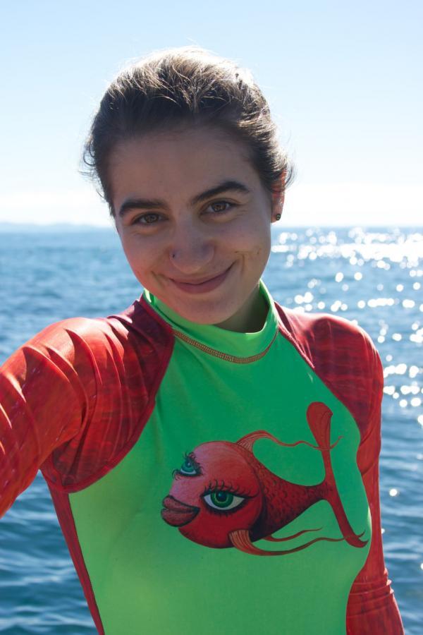 Madison Stewart, Shark Girl. (Carsten Orlt/Kaufmann Productions Pty Ltd)