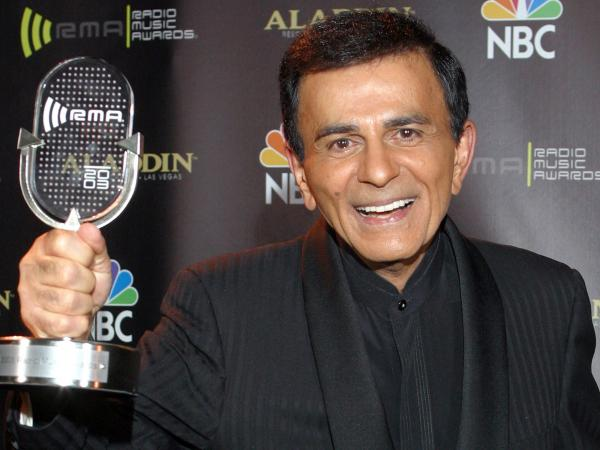 Seen here in 2003, Casey Kasem spent much of a long career making music listening less lonely.