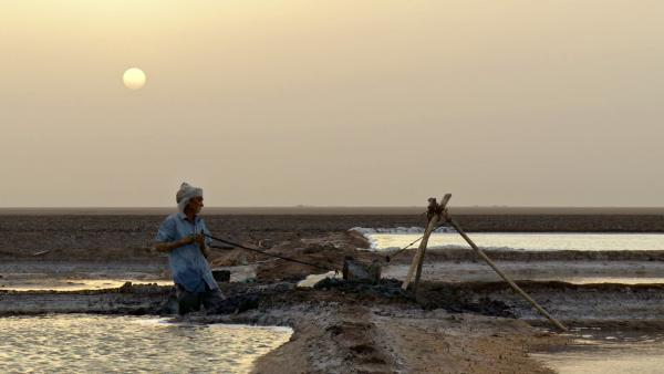 The work of harvesting salt, portrayed in the documentary <em>My Name Is Salt, </em>is difficult. But there's also a certain pride that comes with doing it well.