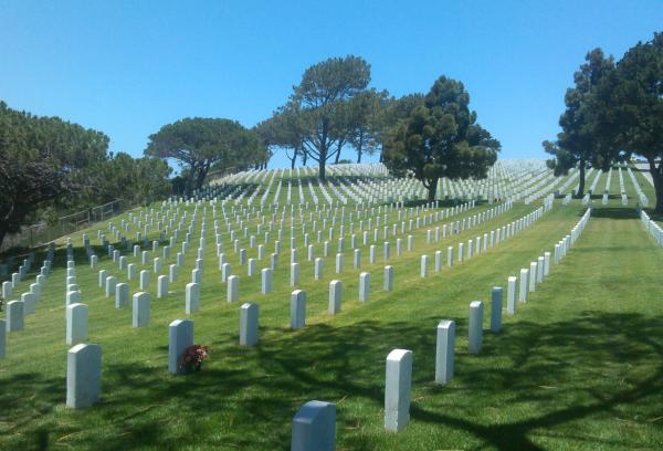 Fort Rosecrans National Cemetery is a military cemetery in San Diego, Calif. (Alex Ashlock)