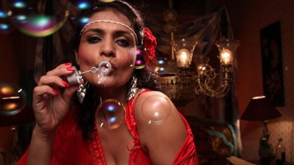 Zeena Bhatia plays Poonam, an aging actress, in the new film <em>Miss Lovely,</em> which exposes India's underground porn industry.