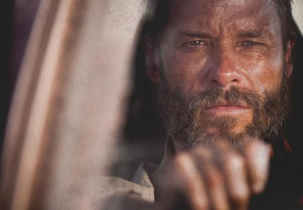 "Guy Pearce is pictured in a still from ""The Rover."" (A24)"