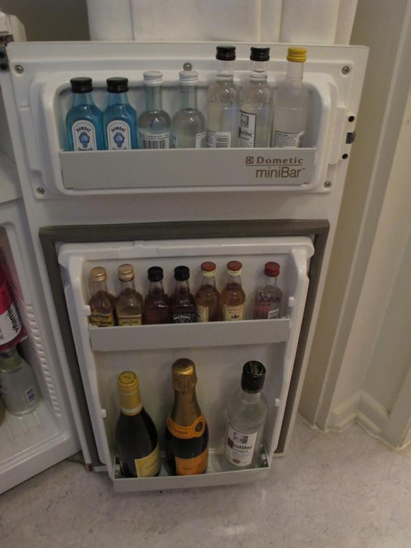 Mini bar included at The Standard Hotel in Los Angeles. (adamjackson1984/Flickr)