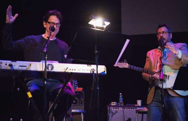 John Linnell and John Flansburgh of They Might Be Giants might enjoy putting our contestants through the ringer a little <em>too</em> much...