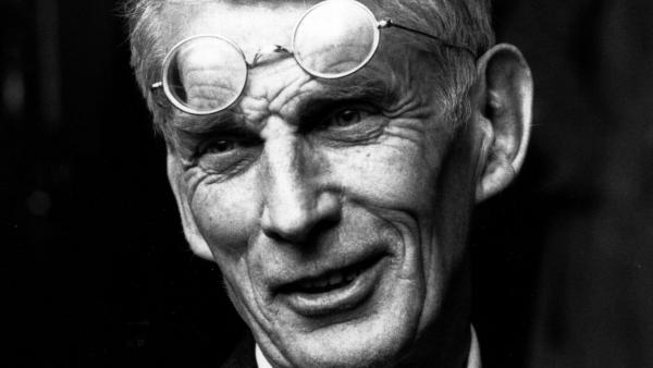 Playwright and writer Samuel Beckett, shown here around 1970, wrote <em>Echo's Bones </em>at his editor's request — only to have it cut from his first collection.