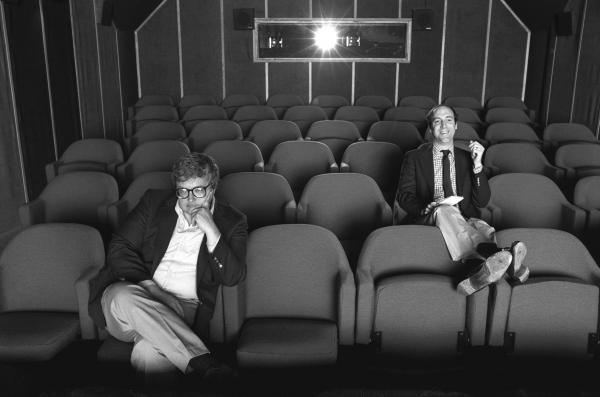 Roger Ebert reviewed movies for the <em>Chicago Sun-Times</em> for 46 years. His TV sparring partner was also his newspaper rival — Gene Siskel, the film critic for the <em>Chicago Tribune</em>.