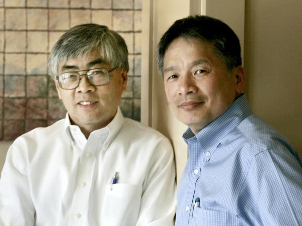 "Buck Gee, (left), a retired Cisco vice president and Wes Hom, a retired IBM vice president co-authored <a href=""http://c.ymcdn.com/sites/ascendleadership.site-ym.com/resource/resmgr/Research_NEW/The_Failure_of_Asian_Success.pdf"">a study</a> that found Asians are underrepresented in executive offices of Silicon Valley tech companies."