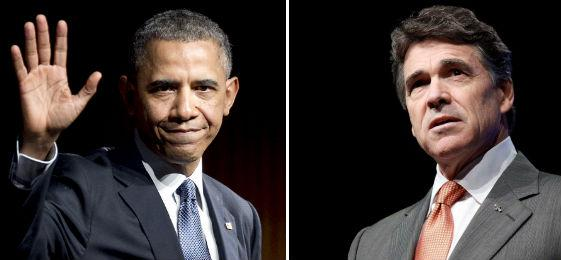 President Obama asked Perry to a roundtable discussion with faith leaders and elected officials in Dallas on Wednesday.