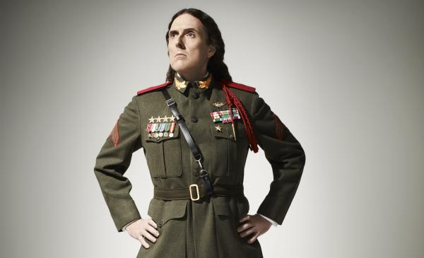 """Weird Al"" Yankovic's latest album, <em>Mandatory Fun</em>, comes out July 15."