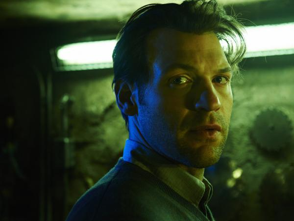 In <em>The Strain</em>, Corey Stoll plays a scientist named Ephraim Goodweather, who heads the Centers for Disease Control and Prevention team called in to investigate a very bizarre airline disaster.