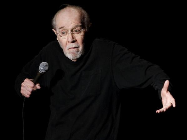 George Carlin opens the 13th annual U.S. Comedy Arts Festival at the Wheeler Opera House in Aspen, Colo., in 2007, a year  before his death at age 71.