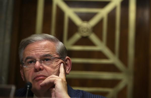 Committee Chairman Sen. Robert Menendez (D-NJ) is pictured at a Senate Foreign Relations Committee hearing on June 5, 2014. (Alex Wong/Getty Images)