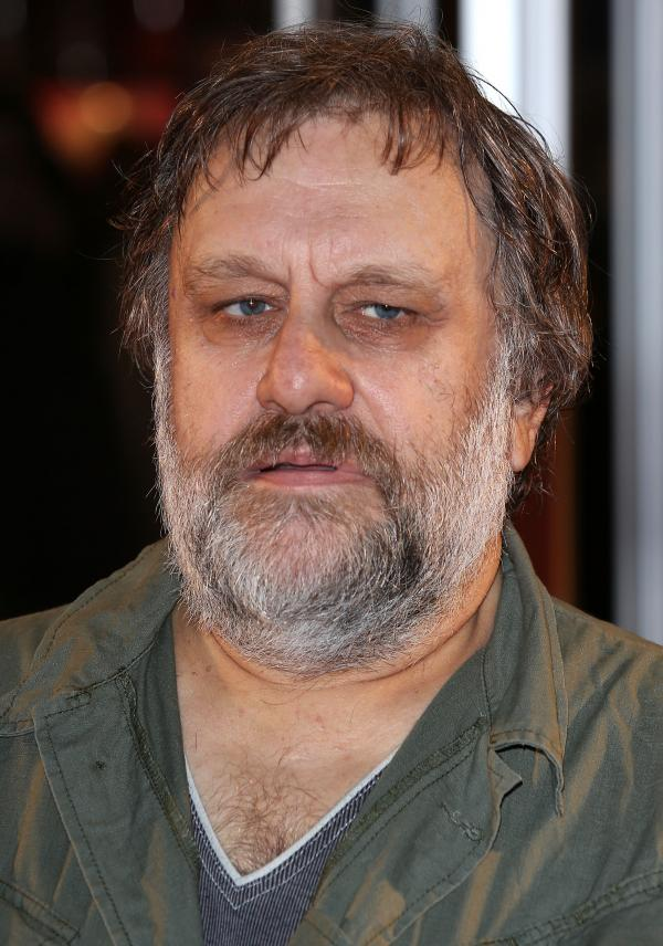 Marxist philosopher Slavoj Zizek, photographed in 2012 in London.