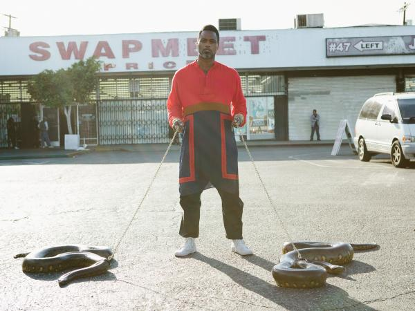 Shabazz Palaces' new album, <em>Lese Majesty</em>, comes out July 29.