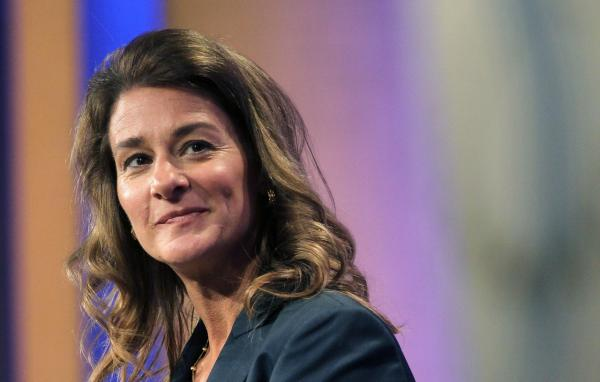 Philanthropist Melinda Gates is pictured on September 21, 2010, in New York City. (Mario Tama/Getty Images)