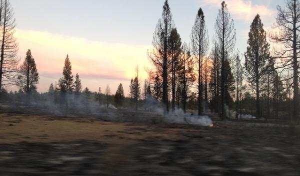Many residents living outside Sprague River, Oregon, lost their homes to a wildfire