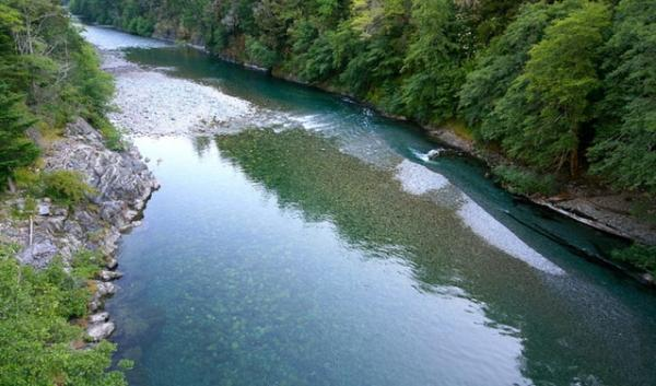 North Fork of the Smith River, near Hiouchi, California.
