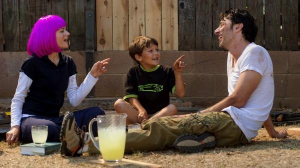 Zach Braff directs and stars in <em>Wish I Was Here </em>-- the followup to <em>Garden State </em>-- as Aidan Bloom, a struggling actor and father to two kids, Grace and Tucker, played respectively by Joey King and Pierce Gagnon.