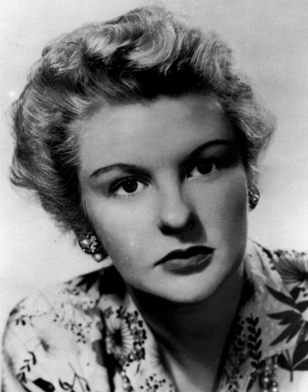 Stritch first appeared on Broadway in 1944 — and was still performing occasionally even at age 89. She is pictured above in 1955.