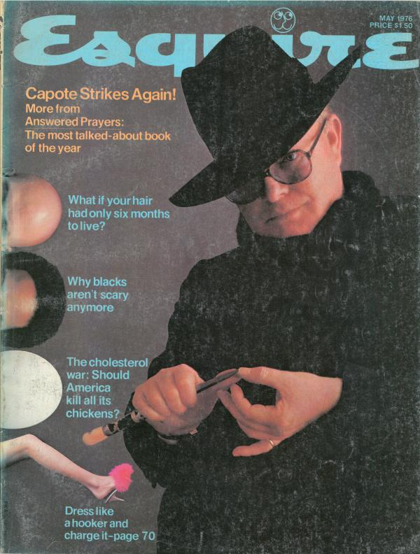 "From 1969 to 1977, during Gordon Lish's tenure as fiction editor, the magazine was known for publishing some of the era's literary icons,€"" including John Cheever, Raymond Carver and Truman Capote, who let <em>Esquire</em> run the first chapters of his unfinished book <em>Answered Prayers</em> in 1975 and '76."