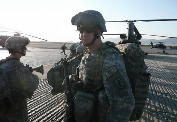 Sgt. Ryan Pitts, pictured here at Bagram Airfield in Afghanistan, will become the ninth living recipient of the Medal of Honor for bravery in Afghanistan or Iraq. (U.S. Army)