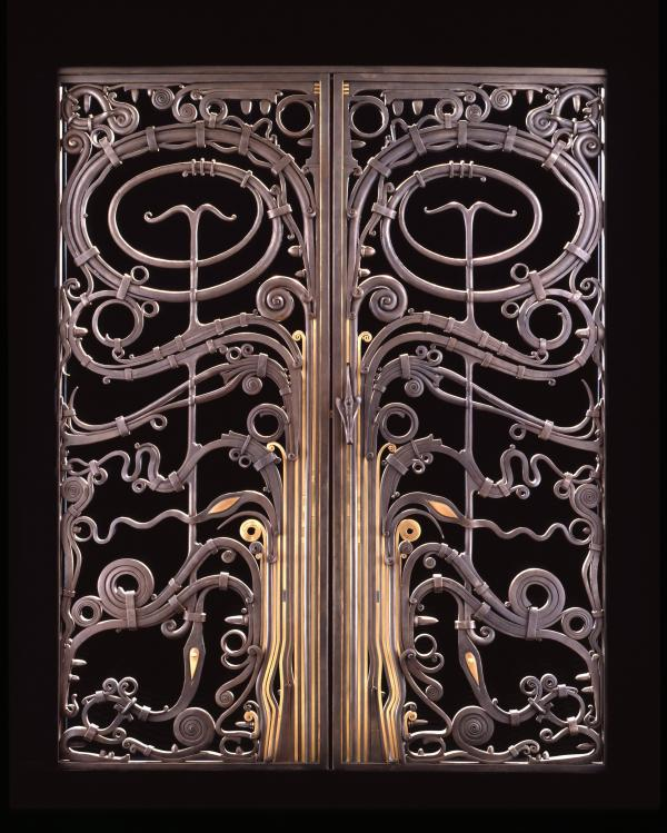 In 1972, Paley won a competition to design the gates for the bookstore at the Smithsonian's Renwick Gallery.