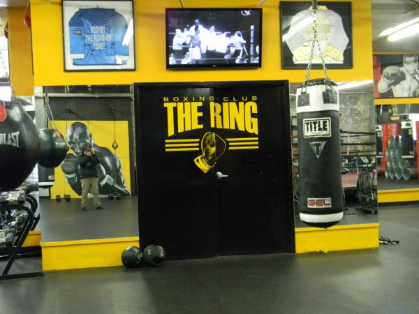 The Ring Boxing Club in Boston, Mass. (Emiko Tamagawa/Here & Now)