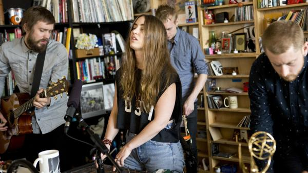 Highasakite performs a Tiny Desk Concert.