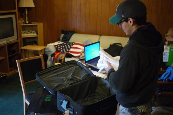 Jorge Lerma prepares to return to Mexico, where he is from, after having spent half his life as an undocumented immigrant in the U.S. (Liz Jones/KUOW)