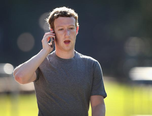 Mark Zuckerberg, chief executive officer and founder of Facebook Inc., attends the Allen & Company Sun Valley Conference on July 10 in Sun Valley, Idaho. Many of the world's wealthiest and most powerful businessmen from media, finance, and technology attend the annual week-long conference which is in its 32nd year. (Scott Olson/Getty Images)