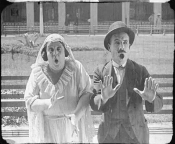 <em>All Is Lost</em><em> (</em>1923), in which two lovebirds struggle to get the bride's family's approval to marry, was screened and identified at 2013's Mostly Lost workshop.