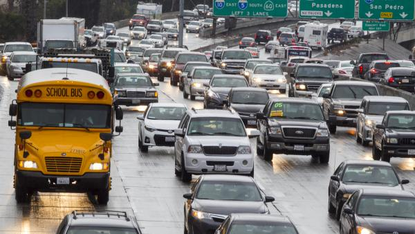 Commuters in major U.S. cities spend an average of 2.5 days a year stuck in traffic. Some companies are capitalizing on that time and offering drivers money for renting out their bumper space to advertisers.