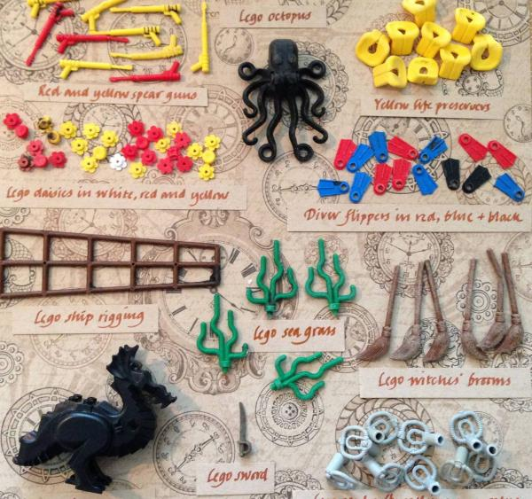 Tracey Williams, who founded the Lego Lost At Sea Facebook page, put together this guide to some of the Lego pieces people are finding that were spilled into the ocean.