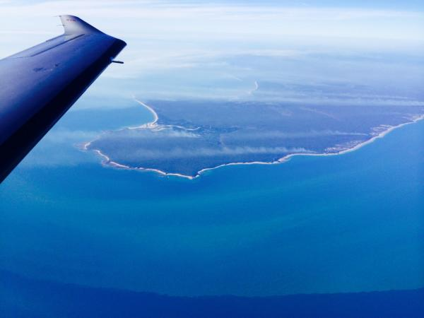 The coast of Australia, near Darwin. (Courtesy Amelia Rose Earhart)