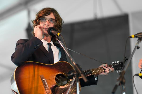 "The Milk Carton Kids' Joey Ryan on how fatherhood has changed his songwriting process: ""I was about to write a song about [my newborn son] and then he vomited on me."" <br /><br />"