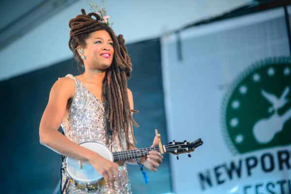 Like stepping out of time: Valerie June.
