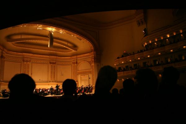 Albany Symphony fans --some 600 of them — made the journey to Manhattan's Carnegie Hall to hear their hometown orchestra play in the Spring for Music festival.